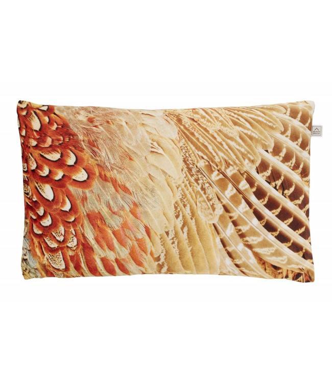 Dutch Decor kussenhoes Amana 30x50 cm taupe