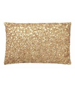 Dutch Decor sierkussen Dotan 30x50 cm goud