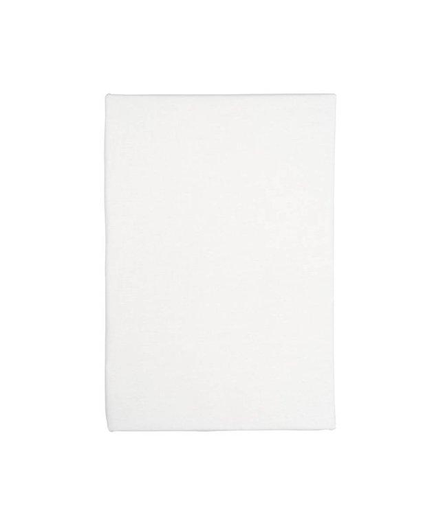 Dutch Decor hoeslaken Percaline 160x200 off white
