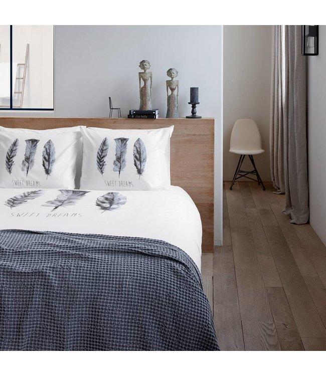 Dutch Decor Dekbedovertrek Sweet Dreams 140x200/220 cm off white