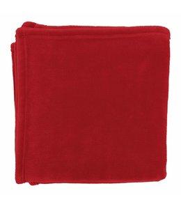 Dutch Decor plaid Flanel 150x200 cm rood