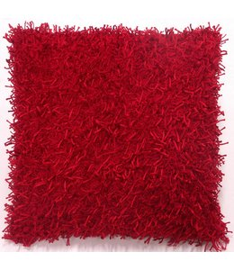 Dutch Decor kussenhoes Ottawa 45x45 cm rood