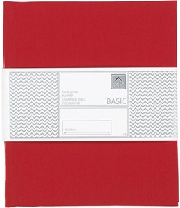 Dutch Decor loper Gent 45x150 cm rood
