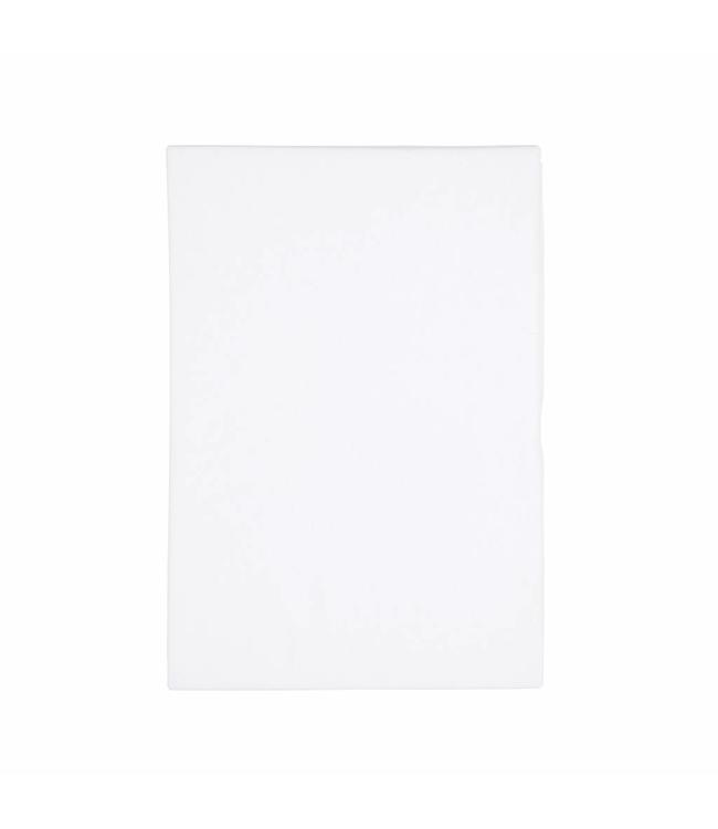 Dutch Decor hoeslaken Jersey 90/100x200/220 cm katoen wit