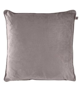 Dutch Decor Kussenhoes Velvet 70x70 cm taupe