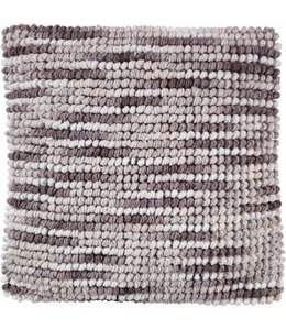 Dutch Decor Sierkussen Liam 45x45 cm taupe multi