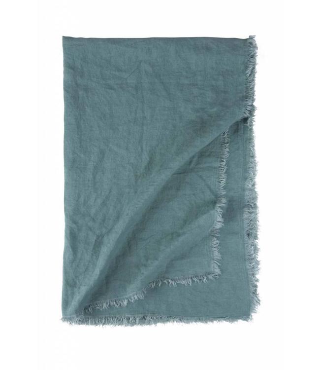 Dutch Decor 1204683 plaid Laid Back Linen 130x180 cm groen