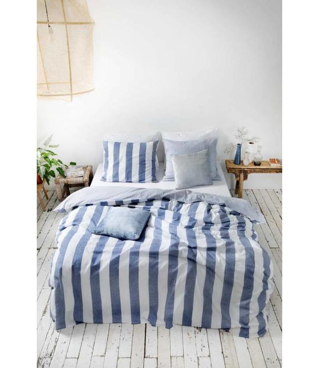 Dutch Decor Dekbedovertrek Everline 155x220 cm blauw