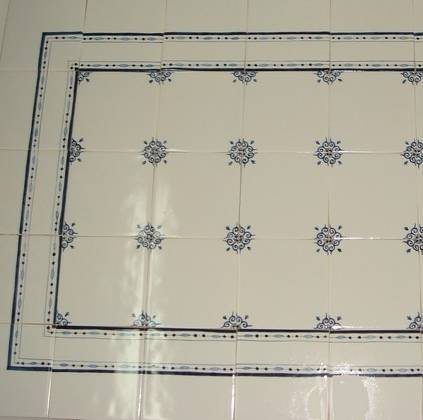 ... Randtegels Kanten Fliesen   Edge Tiles RF0 2 Border Tile