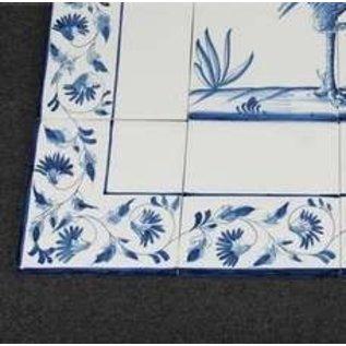 randtegels kanten fliesen - edge tiles rf0-14 border tile - old ... - Weie Fliesen Bordre