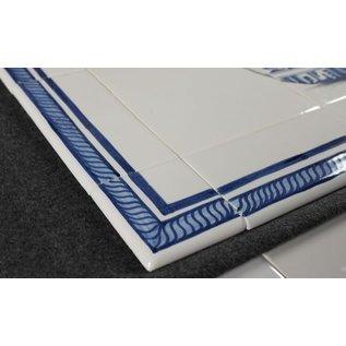 Randtegels Kanten Fliesen - edge tiles RF0-25 Border tile