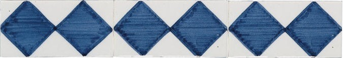 randtegels kanten fliesen - edge tiles rm0-1 border - old dutch tiles - Weie Fliesen Bordre