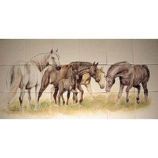 Dieren - Tieren - animals RH18-R Pferden