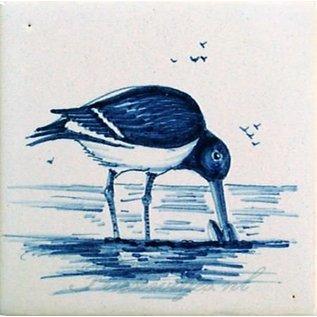 Dieren - Tieren - animals RH1-8b Birds of the Wadden Sea