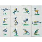 Dieren - Tieren - animals RM1-8 Collaert vogels