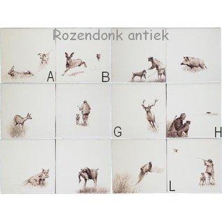 Dieren - Tieren - animals RH1-23, wild