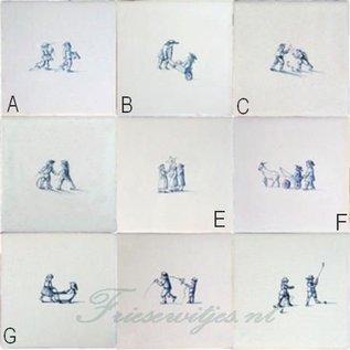 Figuren - characters RF1-18 Kinderspielen