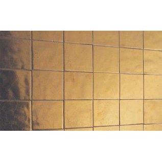 Witjes - Uni Fliesen - uni tiles Fliesen in Bronze auf 10x10cm