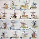 Taferelen - Bilder - scenes RF1-30k, Dutch windmills