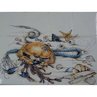 Dieren - Tieren - animals RH12-50 crab