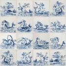 Figuren - characters RM1-23, Meeresfiguren