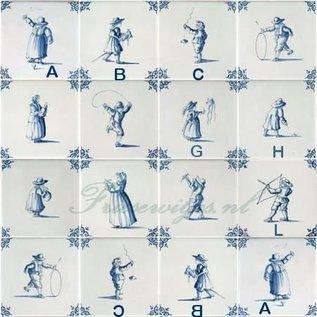 Figuren - characters RM1-19, Kinderspielen