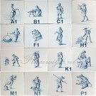 Figuren - characters RM1-21, old crafts