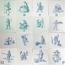 Figuren - characters RM1-21, Alte Berufe