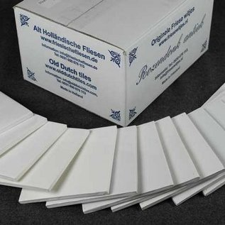 Witjes - Uni Fliesen - uni tiles Sample pack 13 with all 13 white shades