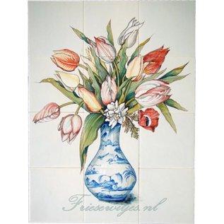 Bloemen - Blume - flowers RH12-28 Vase