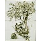 Taferelen - Bilder - scenes RF12-40, picking apples