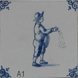 Figuren - characters RM1-21, oude ambachten