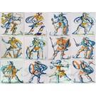 Figuren - characters RM1-27, Krijgers