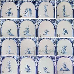 Figuren - characters RM1-33, Defäkierer