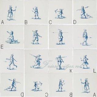 Figuren - characters RM1-28, warriors