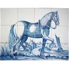 Dieren - Tieren - animals RF12-2, Frisian horse