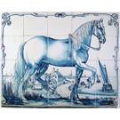 Taferelen - Bilder - scenes RF20-4, Fries paard