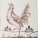 Dieren - Tieren - animals RF4-2, Haan