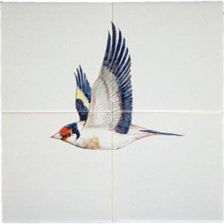Dieren - Tieren - animals RH4-2c, Goldfinch