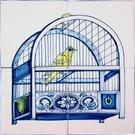Dieren - Tieren - animals Rf4-8a, kooi