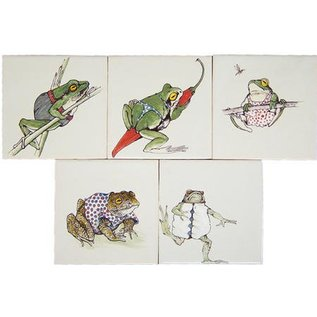Dieren - Tieren - animals RD01-0503 frogs