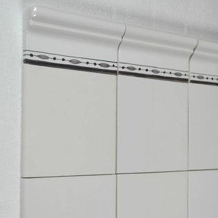 "Randtegels Kanten Fliesen - edge tiles Profile ""B"""