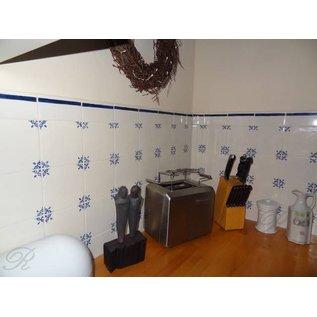 Voorbeelden - Fotogalerie - Photo Gallery RF-osse tiles with Ox-head