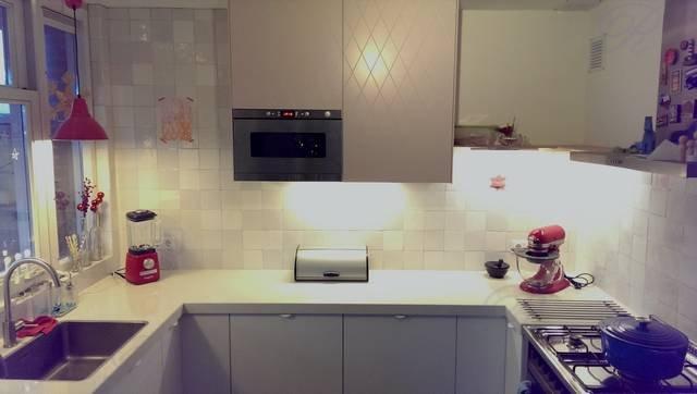 Voorbeelden fotogalerie photo gallery alleen witte tegels - Deco witte tegel ...