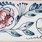 Randtegels Kanten Fliesen - edge tiles RH0-12 Chrysanthemen