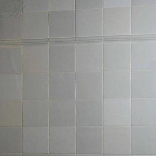 Witjes - Uni Fliesen - uni tiles 10 witte tinten, een wat drukkere mix