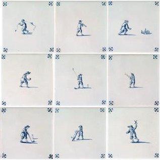 Figuren - characters RF1-17 old children's games small
