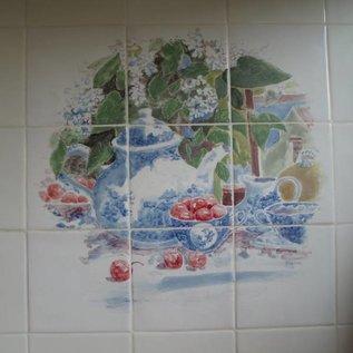 Voorbeelden - Fotogalerie - Photo Gallery Tiles with cherries