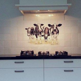 Voorbeelden - Fotogalerie - Photo Gallery Cows in the Kitchen