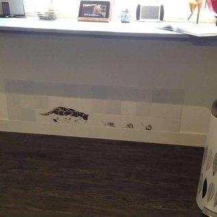 Voorbeelden - Fotogalerie - Photo Gallery Katze jagt die Mäuse